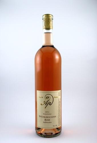 Spätburgunder Rosé QbA halbtrocken