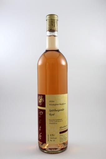 Spätburgunder Rosé QbA mild 2014