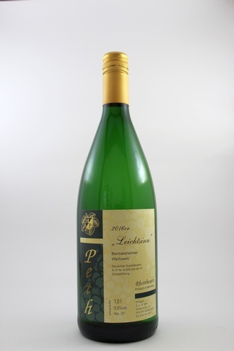 """""""Leichtsinn"""" Weißwein mild 2017"""