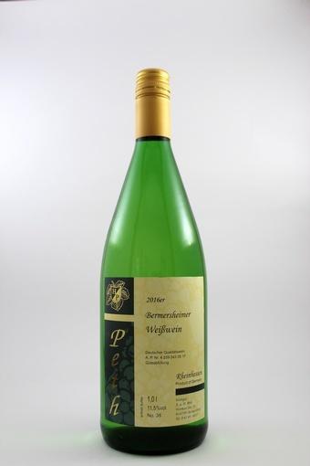 Bermersheimer Weißwein mild 2016