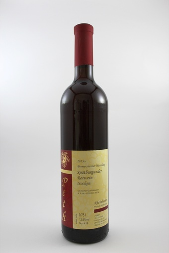 Spätburgunder Rotwein QbA trocken 2013