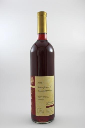 Portugieser Rotwein QbA trocken 2014