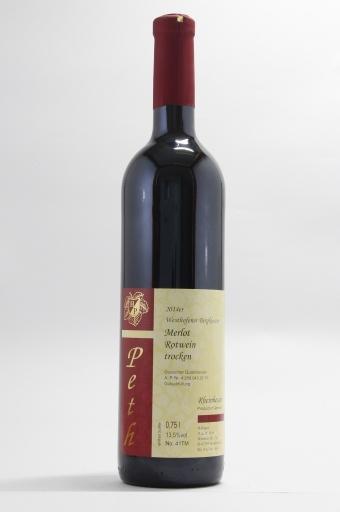 Merlot Rotwein QbA trocken 2014