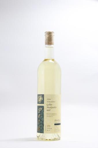 Gelber Muskateller Qualitätswein mild 2016