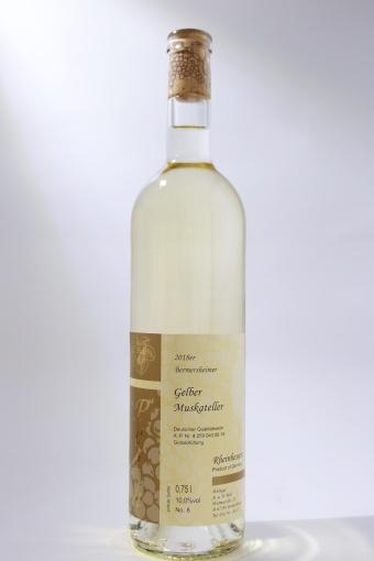 Gelber Muskateller Qualitätswein mild 2018
