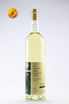 Bermerheimer Hasenlauf Gelber Muskateller Qualitätswein feinherb 2015