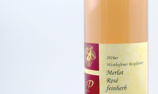 Merlot Rosé feinherb 2016